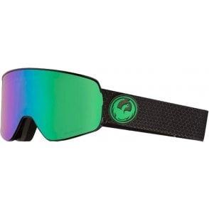 Dragon NFX2 Goggles - Split / LumaLens Green Ion
