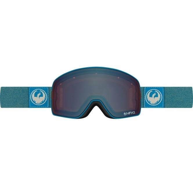 Dragon NFX2 Snowboard Goggles - 2017 Hone Blue