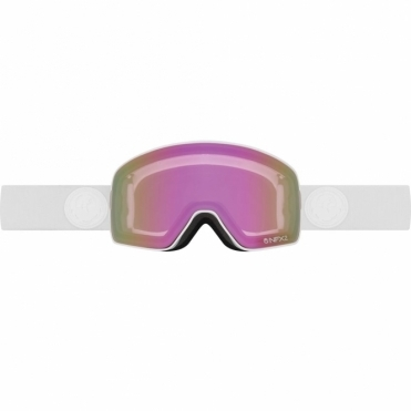 NFX2 Snowboard Goggles - 2017 Whiteout / Pink Ion