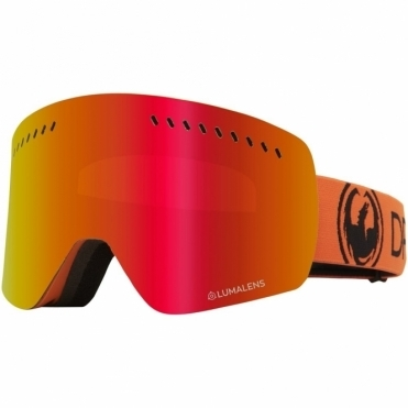 Dragon NFXs Goggles 2020 - Tangerine / Lumalens Red Ion