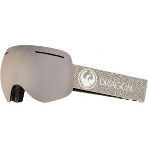 Dragon X1 Goggles - Mill / LumaLens Silver Ion