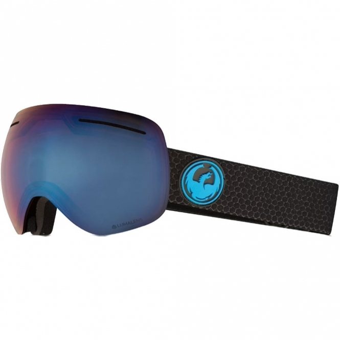 Dragon X1 Goggles - Split / LumaLens Blue Ion