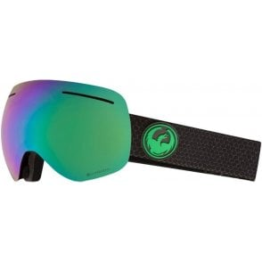 Dragon X1 Goggles - Split / LumaLens Green Ion