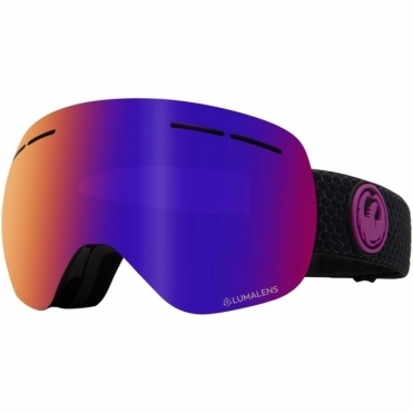 Dragon X1s Goggles 2020 - Split / Lumalens Purple Ion