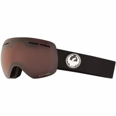 Dragon X1s Goggles - Black / LumaLens Polarised