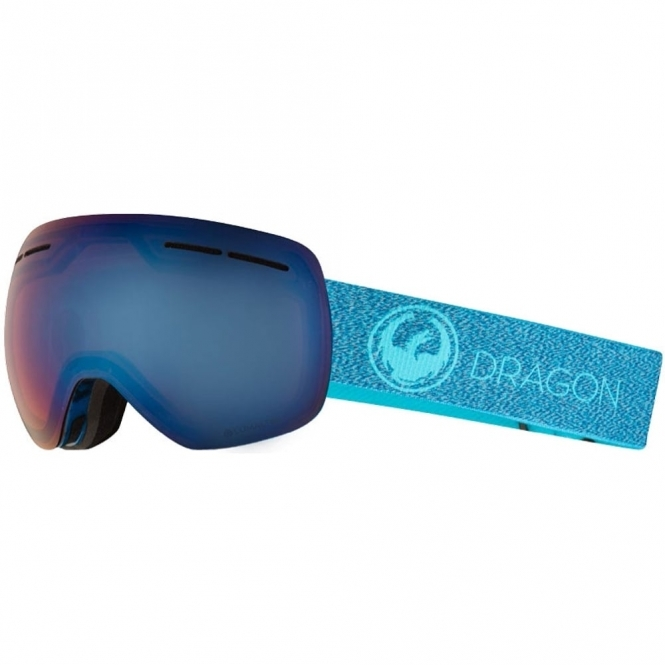 Dragon X1s Goggles - Mill / LumaLens Blue Ion
