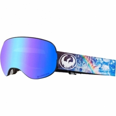 Dragon X2 Goggles 2019 - Galaxy / Lumalens Blue Ion