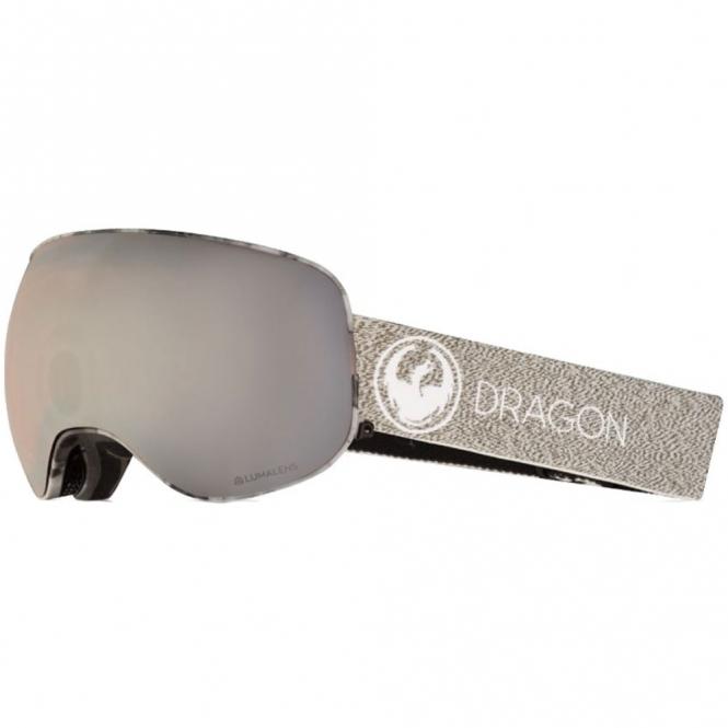 Dragon X2 Goggles - Mill / LumaLens Silver Ion