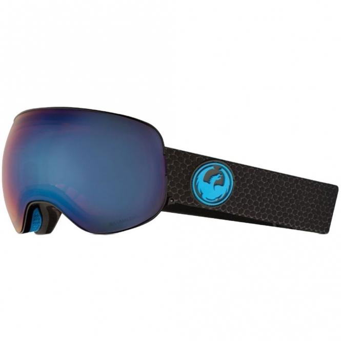 Dragon X2 Goggles - Split / LumaLens Blue Ion