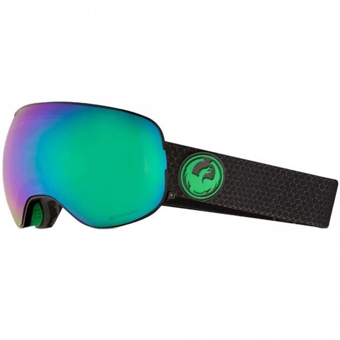 Dragon X2 Goggles - Split / LumaLens Green Ion