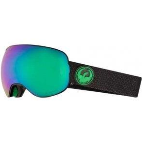 X2 Goggles - Split / LumaLens Green Ion