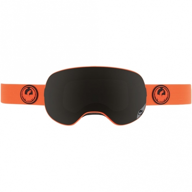 Dragon X2 Snowboard Goggles - Safety / Dark Smoke