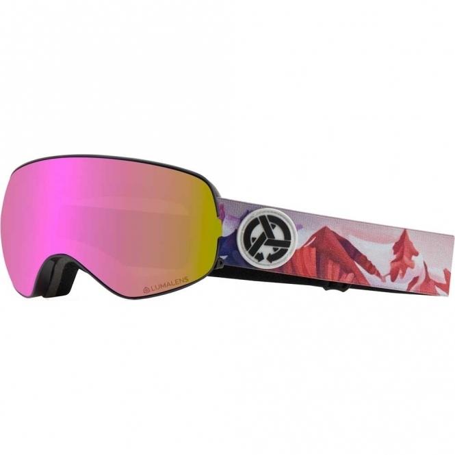 Dragon X2s Goggles - Asymbol Iuna Tinta / LumaLens Pink Ion