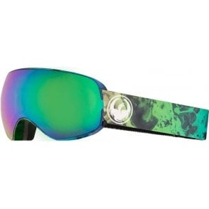 Dragon X2s Goggles - Ink / LumaLens Green Ion