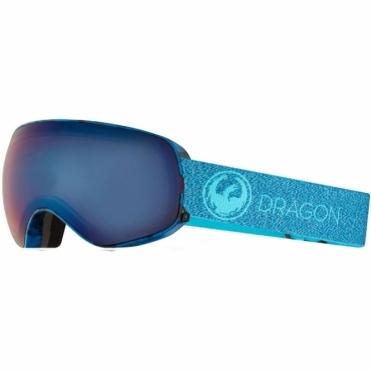 Dragon X2s Goggles - Mill/ LumaLens Blue Ion