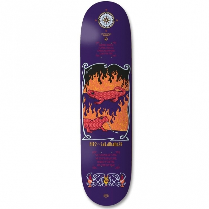 Drawing Boards Fire Salamander Deck - 8.1""