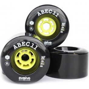 Evolve Skateboards Abec 11 F1 107mm (Wheels Only)