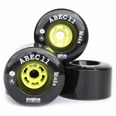 Evolve Abec 11 F1 107mm (Wheels Only)