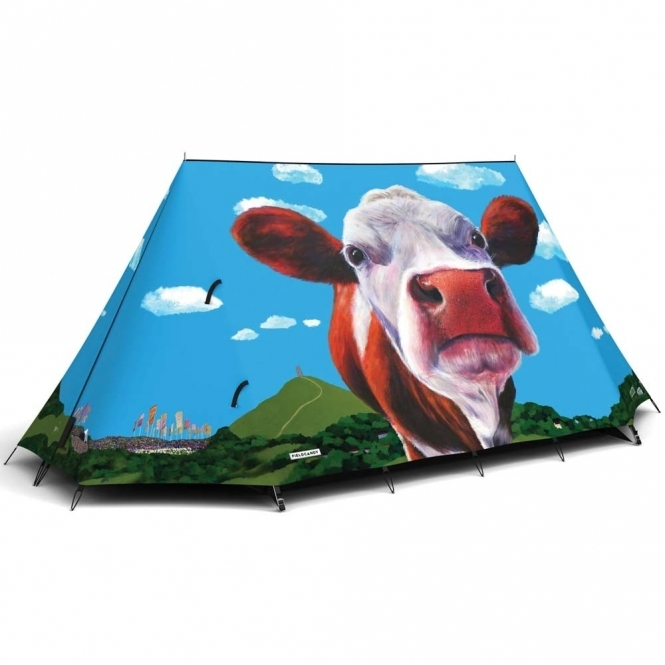 FieldCandy Glasto Cows Original Explorer Camping Tent