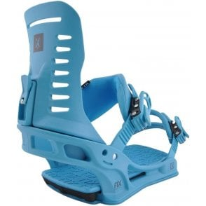 Fix Truce Snowboard Bindings - Blue