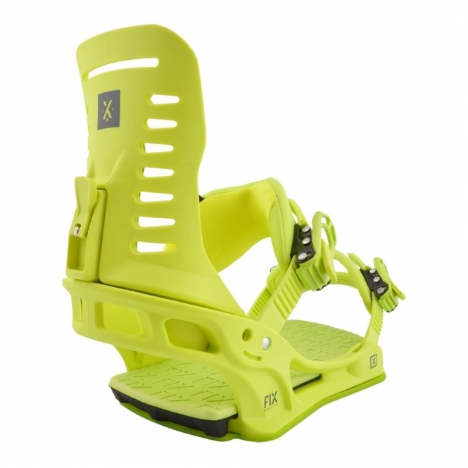 Fix Truce Snowboard Bindings - Lime