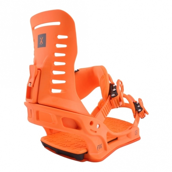 Fix Truce Snowboard Bindings - Orange