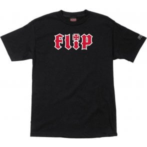 Flip HKD Black T-Shirt