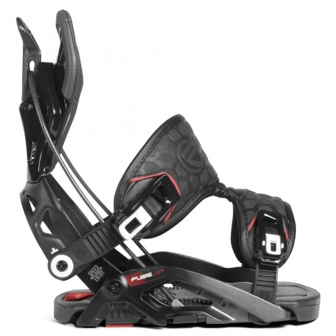 Flow Fuse-GT Snowboard Bindings Black 2019