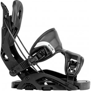 Flow Fuse Snowboard Bindings Black 2018