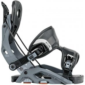 Flow Fuse Snowboard Bindings Gunmetal 2018