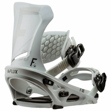 Flux DS Snowboard Bindings - White