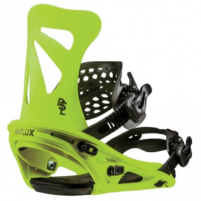 Flux DSL Snowboard Bindings - Neon Yellow