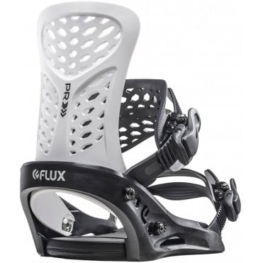 Flux PR Snowboard Bindings - Black
