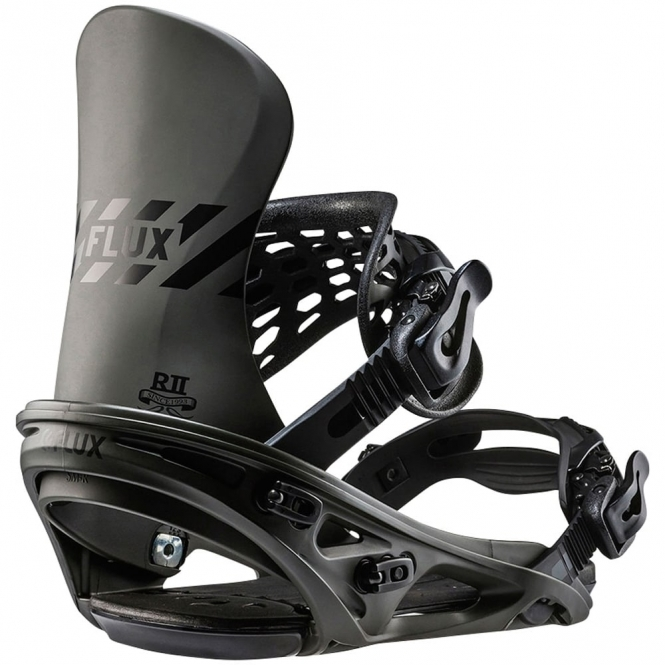 Flux R2 Snowboard Bindings - Black