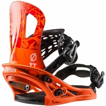 Flux TT Snowboard Bindings - Orange