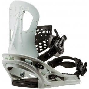 Flux TT Snowboard Bindings - White