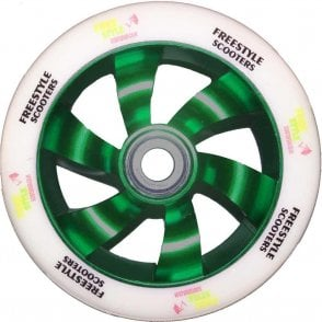 Shredder Scooter Wheel - 110mm Green