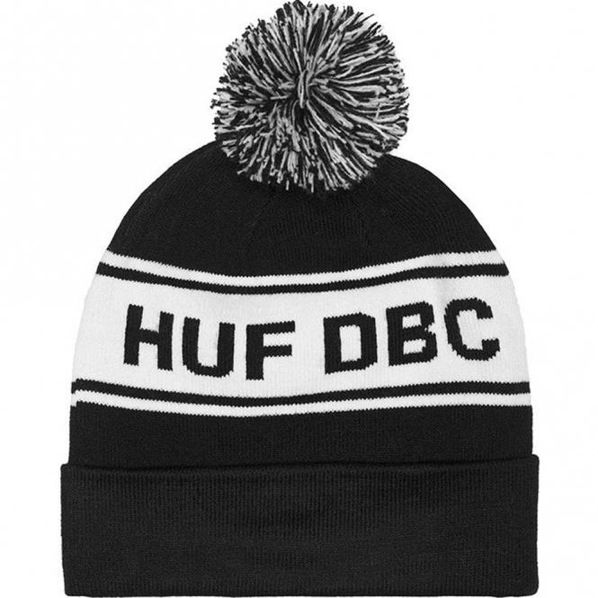 Huf DBC Pom Beanie - Black