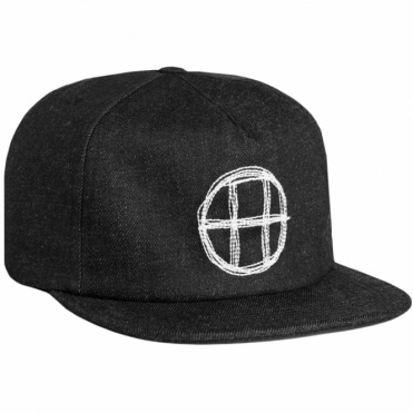 Huf Denim Circle H Snapback