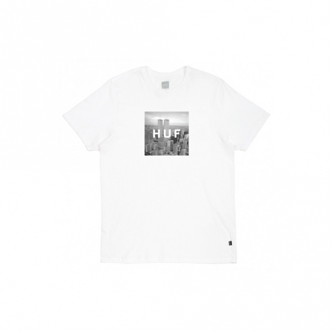 Huf New York Box Logo Tee