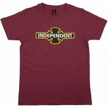 Youth T Shirt OGBC - Oxblood