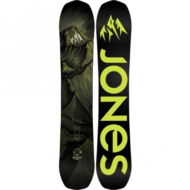 Jones Explorer Snowboard 158W