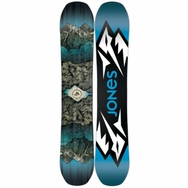 Jones Mountain Twin Snowboard 155 Wide