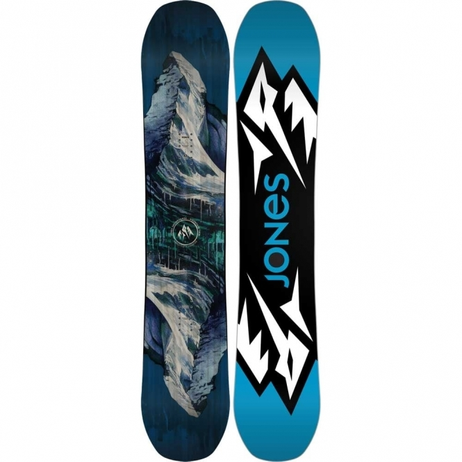 Jones Mountain Twin Snowboard 158 Wide