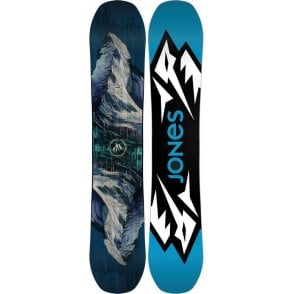 Mountain Twin Snowboard 158 Wide