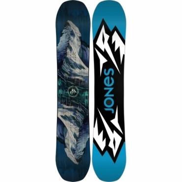 Mountain Twin Snowboard 158 Wide