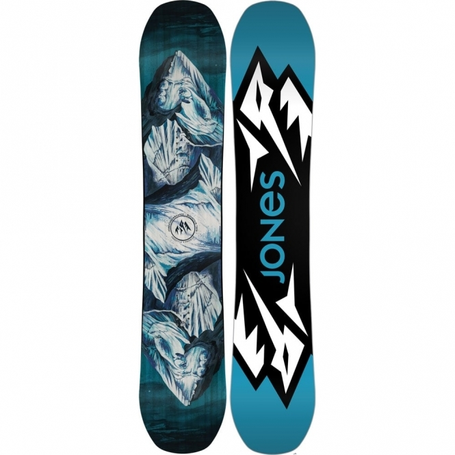 Jones Mountain Twin Snowboard 161W