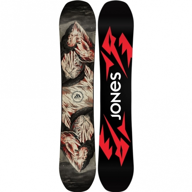Jones Ultra Mountain Twin Snowboard 164W
