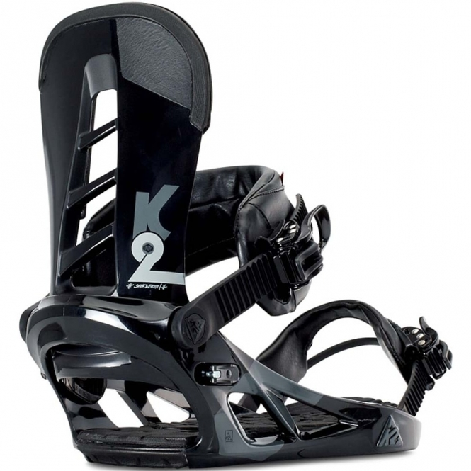 K2 Indy Snowboard Bindings - Black