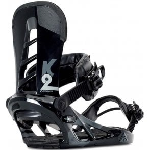 Indy Snowboard Bindings - Black